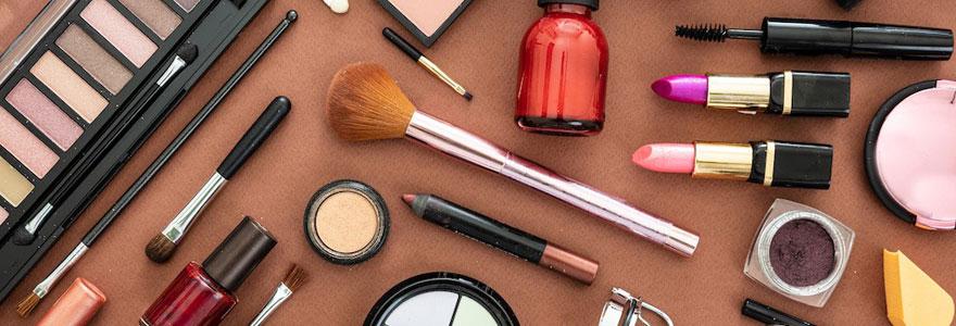 Achat de maquillage