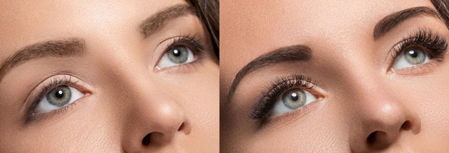Extension de sourcils